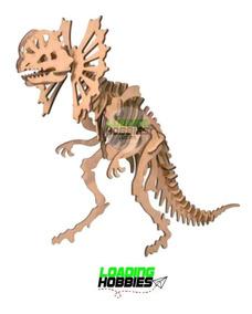 Madera Puzzle Animal Dinosaurio 3d Ceratopsier Rompecabezas CshrtQdx