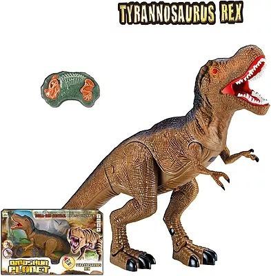 dinosaurio control remoto c/ luz sonido y mov casa valente
