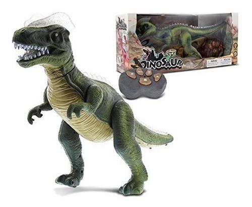 dinosaurio de control remoto - juguete electrónico !