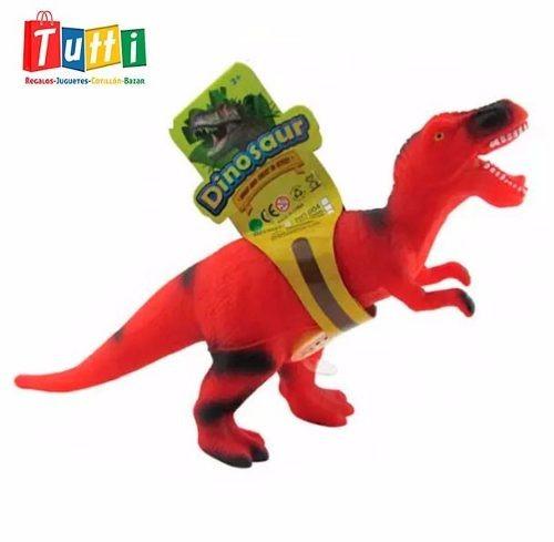 dinosaurio de goma 38cm - modelo 1