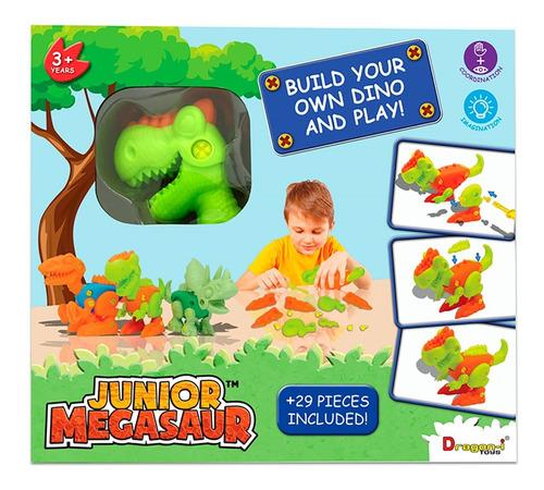 dinosaurio de juguete bebe junior surtido p armar 3 modelos