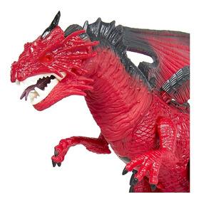 Dragon Juguete Luz Grande Ruge Camina De Sonido Dinosaurio wn0mN8
