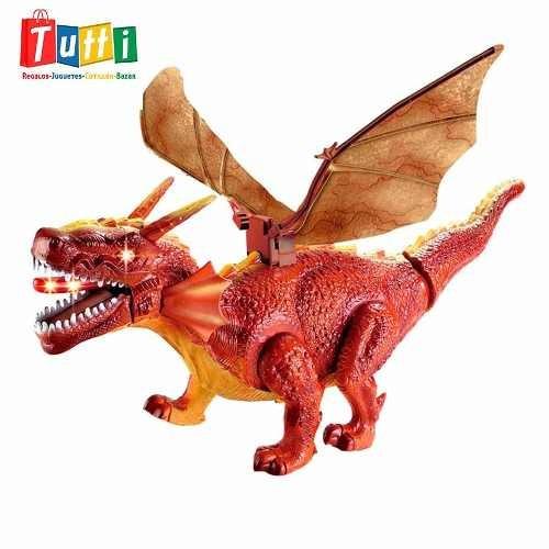dinosaurio grande que camina con luces y sonidos - oferta