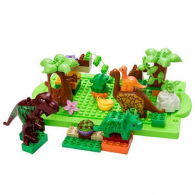 Edificio Dinosaurio Jurásico Plástico Juguete Tema Bloque ChQrstd