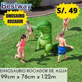 Dinosaurio Muñeco Pileta De Agua