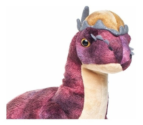 dinosaurio peluche pachycephalosaurus 50cm