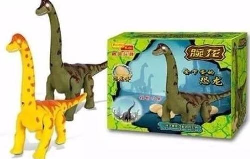 dinosaurio pone huevos sonido luces con movimiento juguete