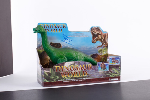 dinosaurio soft c/ sonido (triceratops/braquiosaurio) jem