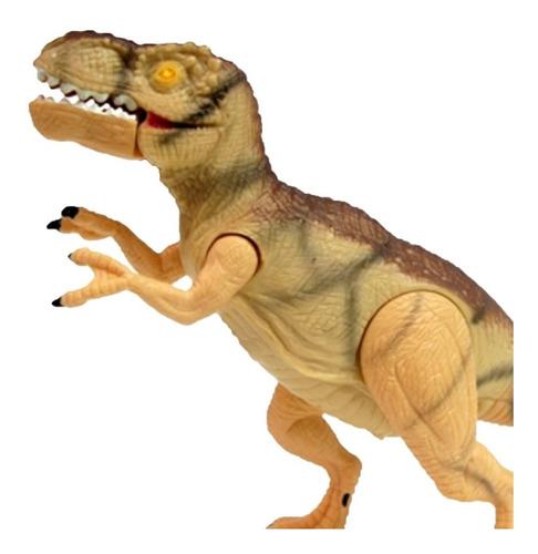 dinosaurio t rex juguete mighty megasaur con luz y sonido