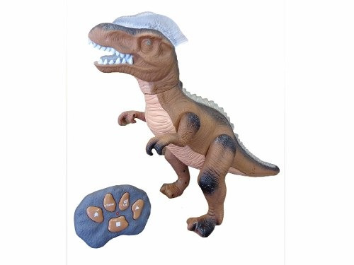 dinosaurio tiranosaurio rex con control remoto juguetes