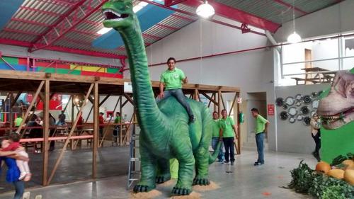 dinosaurio tiranosaurio rex en vivo para tu fiesta infantil