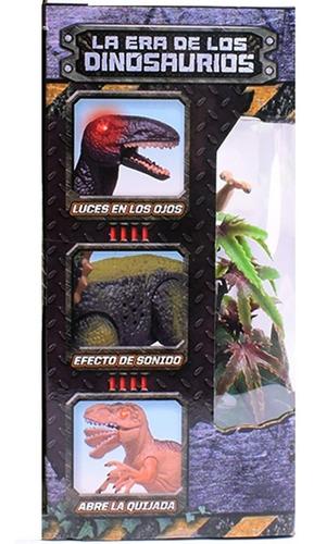 dinosaurio tiranosaurio rex luz sonido move cod 6877 bigshop
