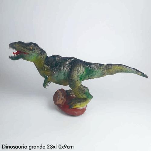 dinosaurio verde - dinosaurio artesanal
