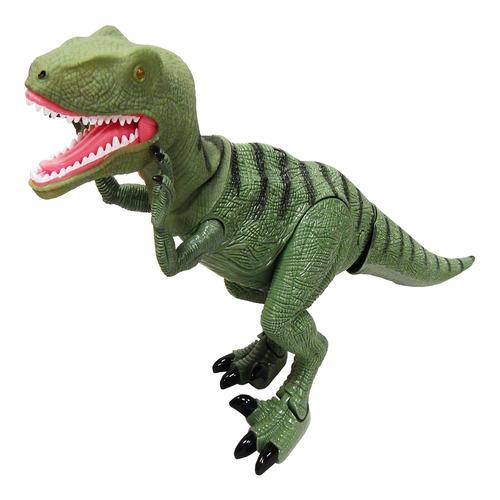 dinosaurio verde luz rugido control remoto - hay de todo!