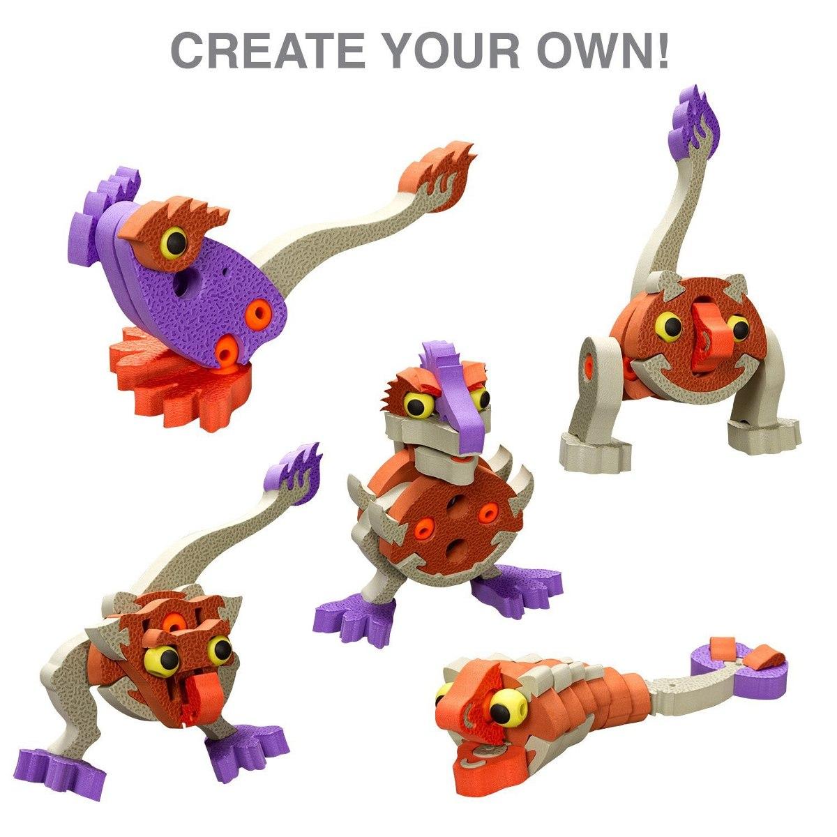 Dinosaurios armables juguetes para ni os foamy - Juguetes nuevos para ninos ...
