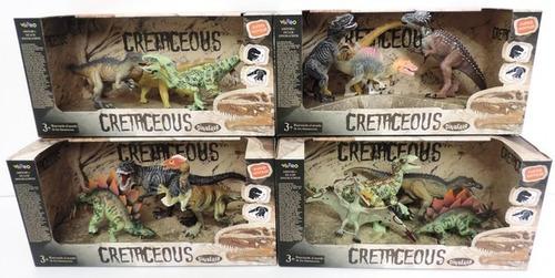 dinosaurios cretaceous set mediano m4 original 99553 bigshop