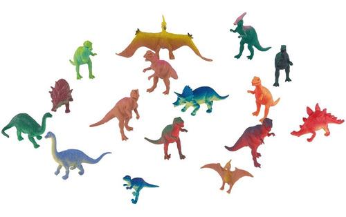 dinosaurios de 40 piezas adventure force cubo grande