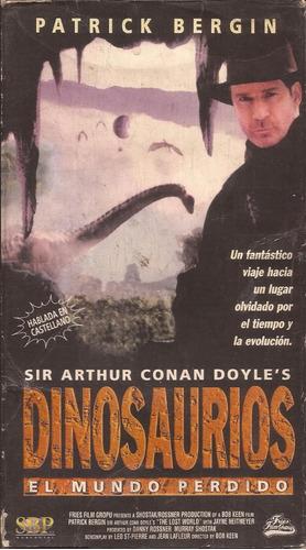 dinosaurios el mundo perdido vhs patrick bergin fantastico