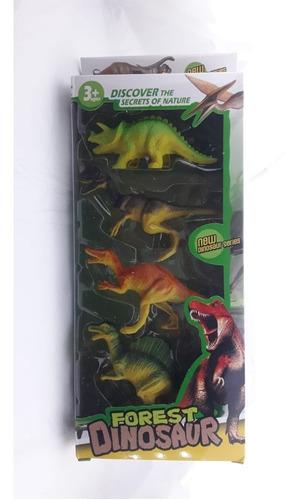 dinosaurios en caja x 4 unidades oferta  palermo