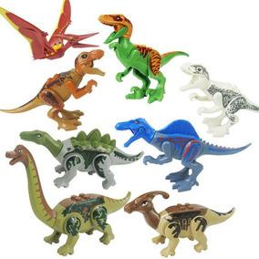 Dinosaurios 8 World Simil Set Minifiguras Lego 2 Jurassic DYE2IbWeH9