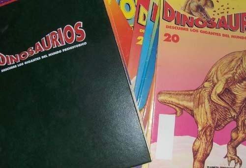dinosaurios planeta deagostini - 78 fascículos - impecables