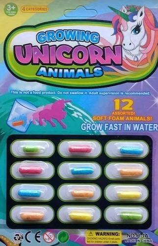 dinosaurios x12 cápsulas mágicas crecen en agua diverti toys