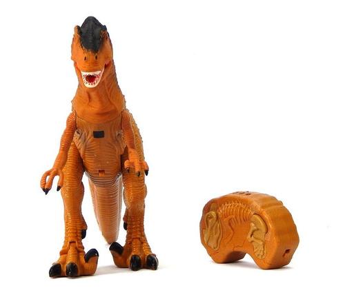 dinossauro controle remoto som luz mc18011
