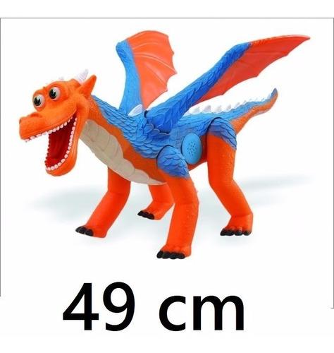 dinossauro de brinquedo dragon amigo dragão emite som menino