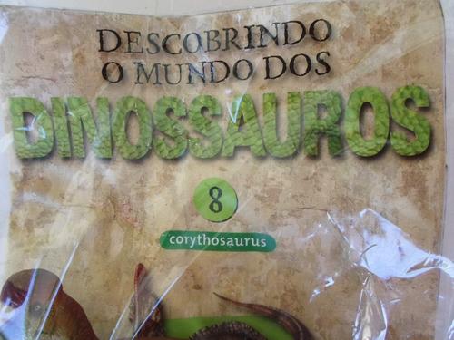 dinossauro descobrindo mundo dos dinossauros 8 corythosaurus