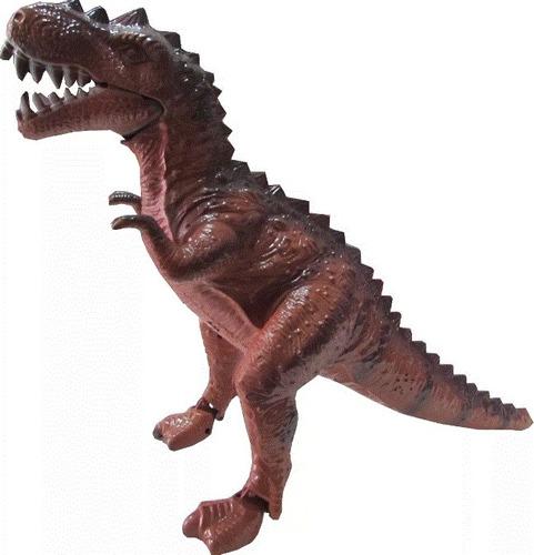 dinossauro eletrônico 3d- anda e acende os olhos