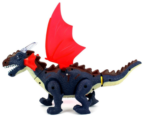 dinossauro eletrônico anda, emite som e luz vários modelos