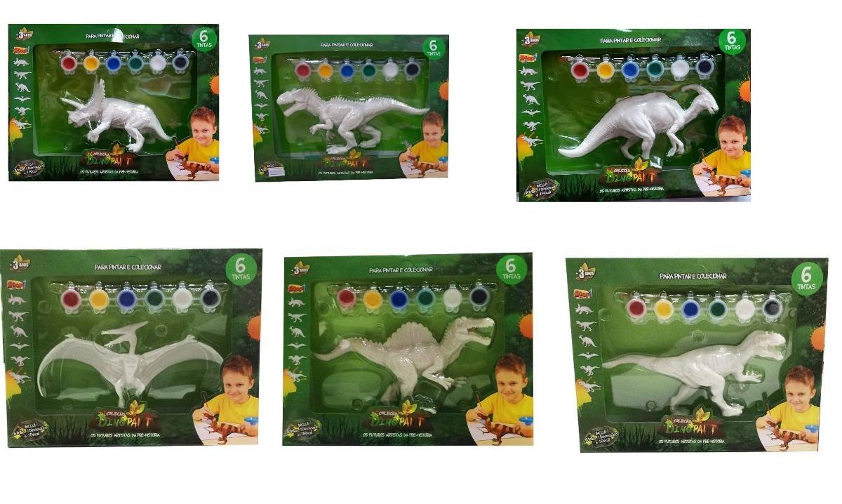 Dinossauro Para Pintar 01 Unidade Zoop Toys R 39 90 Em