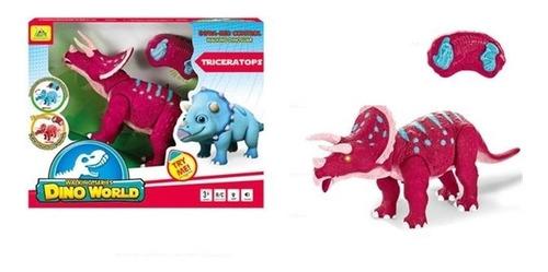 dinossauro robo com controle remoto triceratops robossauro