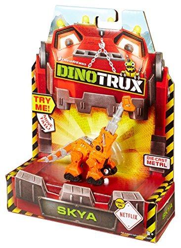 dinotrux fundió el vehículo skya