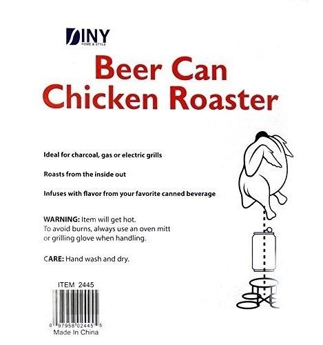diny casa y estilo cerveza puede tostador de pollo