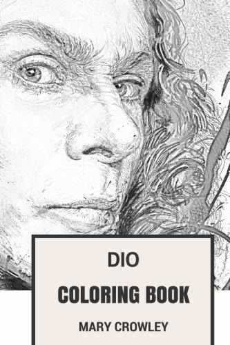 Dio Coloring Book : Ex-black Sabbath And Heavy Metal Godfath ...