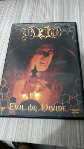 dio evil or divine dvd