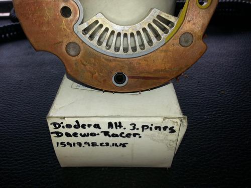 diodera alternador 3 pines racer gm