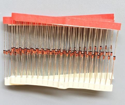 diodo 1n4148 4148 do-35 kit com 60 pçs - carta registrada