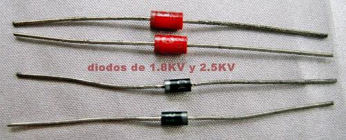 diodos de alta tension para 1.8kv y 2.5kv marca sanyo, japon