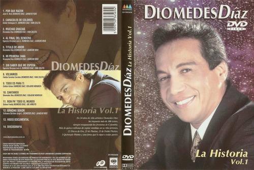 diomedes díaz / la historia vol 1 / dvd inédito / original