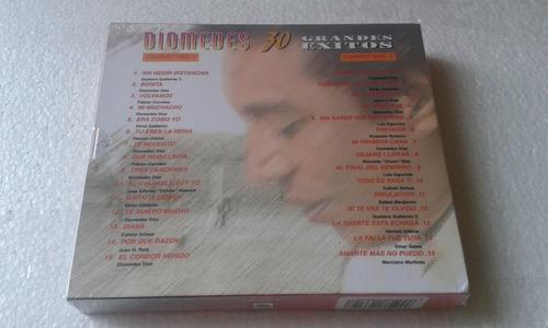 diomedez díaz 30 grandes éxitos, volumen 1 , 2 cds nuevos!!