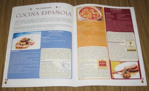 dionisos club del vino n° 32 agosto 2003 cocina española