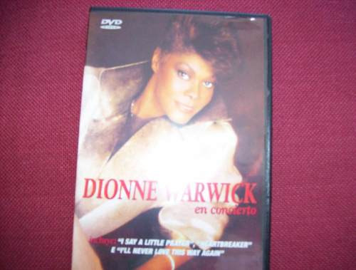 dionne warwick  - dvd  - disco raro producto original