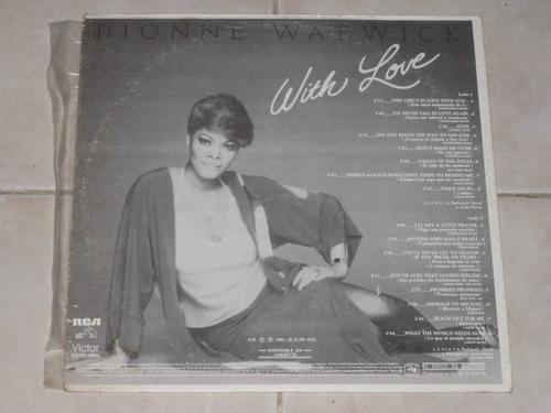 dionne warwick with love disco lp acetato vinil