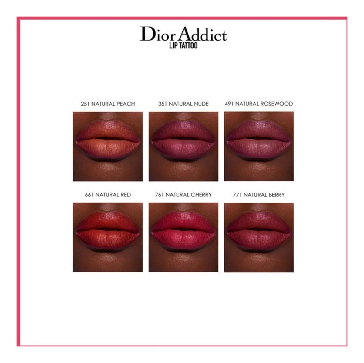 Dior Addict Lip Tattoo 771 Natural Berry Batom Líquido 6ml