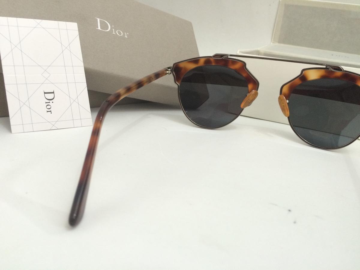 233e3815391 Carregando zoom... óculos dior so real de sol na oncinha tartaruga