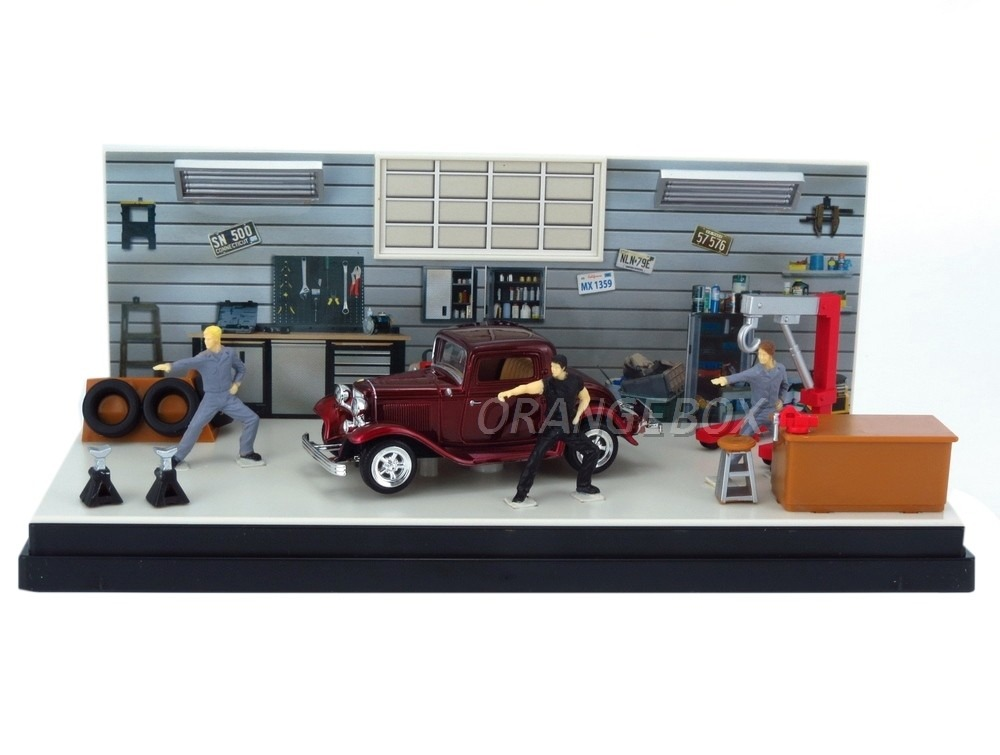 diorama dream car ford coupe 1932 motormax 1 43 73882 r 50 92 em mercado livre. Black Bedroom Furniture Sets. Home Design Ideas