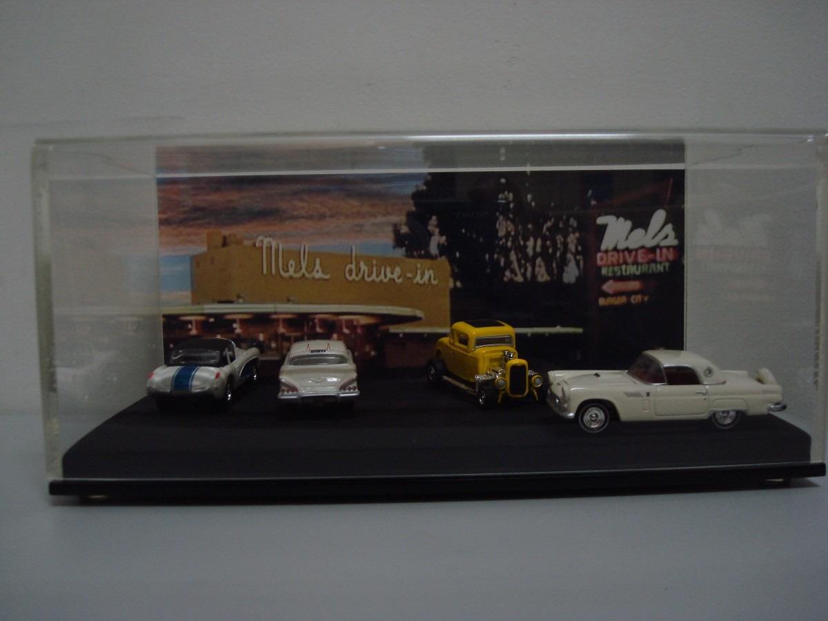 MLB 725103753 Diorama Johnny Lightning American Graffiti Mels Drive In _JMon 1958 Chevy Impala