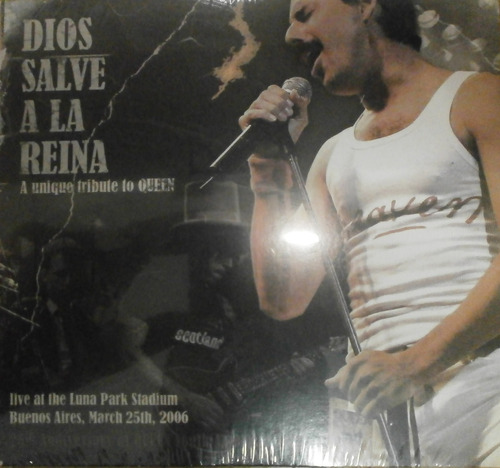 dios salve a la reina live at luna park march 2006 dvd nuevo